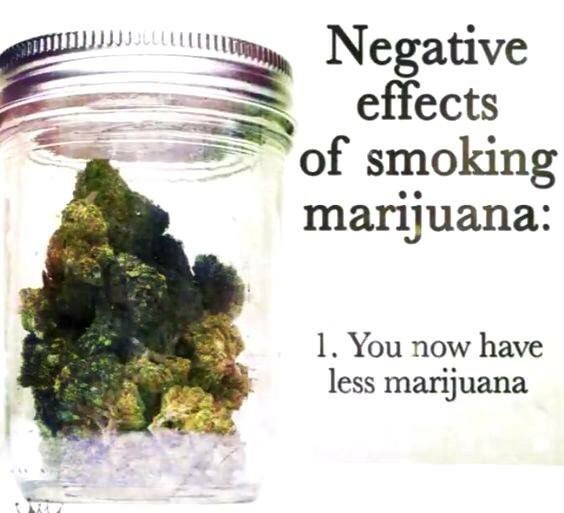 the negative health effect of consuming marijuana What are the negative effects of cannabis smoking and secondhand smoke given the negative health effects of are prohibited from consuming in their homes.