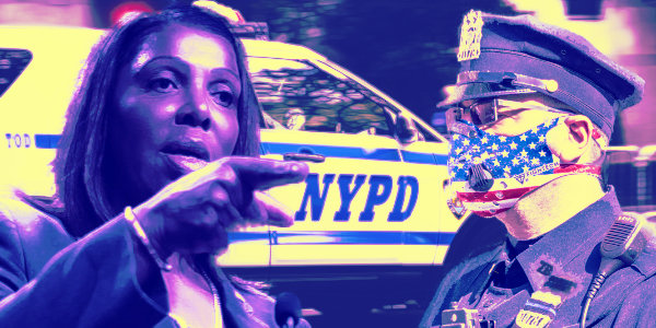 NY AG says cops shouldn't arrest people for certain warrants during traffic stops…