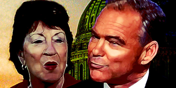 Kaine, Collins pitch Senate colleagues on censuring Trump as impeachment conviction unlikely…